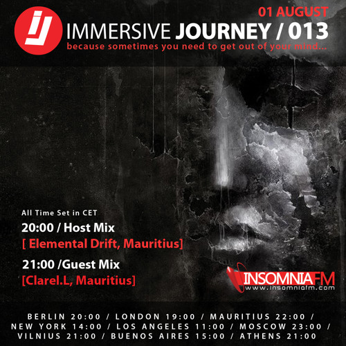 Immersive Journey Episode 013 on Insomniafm.com