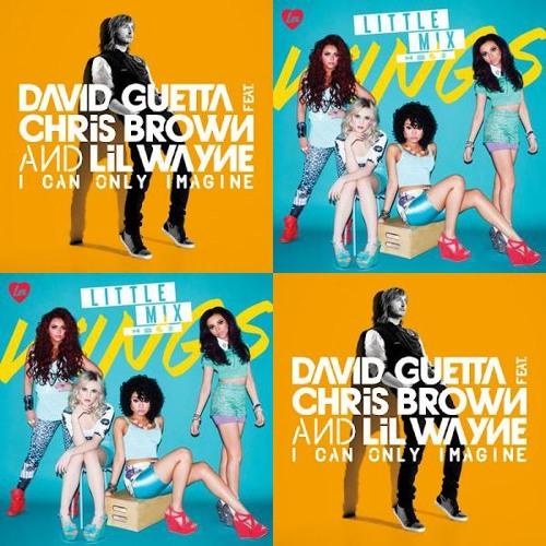 David Guetta ft Little Mix - I can only imagine the wings (Bastard Bob mashup)