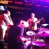 Ron English, Charles Boles, Renell Gonzalves, and John Dana at The Dirty Dog Jazz Cafe