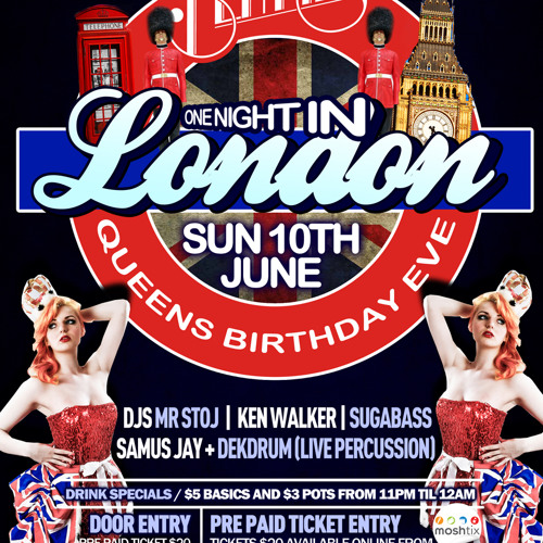 One Night in London mix 2012