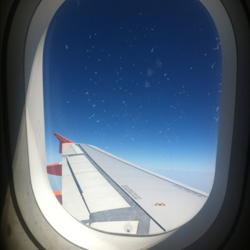 36000 Feet and Descending  at Flight EZY2383
