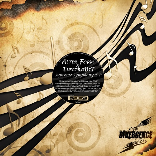 Alter Form & ElectroBiT - Supreme Symphony (Andy Faze Remix) [Divergence] OUT NOW!