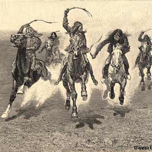 Sepia - sunset riders