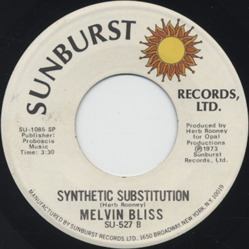 Melvin Bliss / Synthetic Substitution (1973)