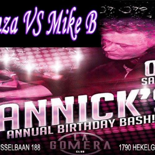 DJ Moeinza vs DJ Mike B - Jannick's Annual B-Day Bash @ Club La Gomera (04-08-2012)