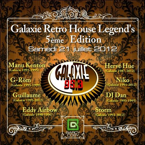 Guillaume Galaxie Retro House Legend's V