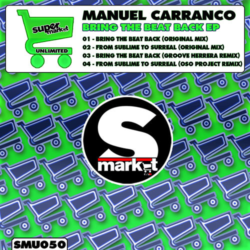 M Carranco - Bring The Beat Back (Original Promo Cut) - OUT NOW !!!