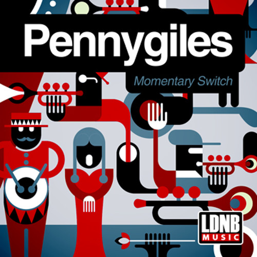 Pennygiles - Attack Of The Jazzy Goth - LDNB Music - LDNB-DG013