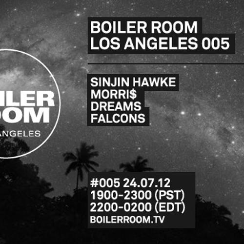 Sinjin Hawke LIVE in the Boiler Room Los Angeles