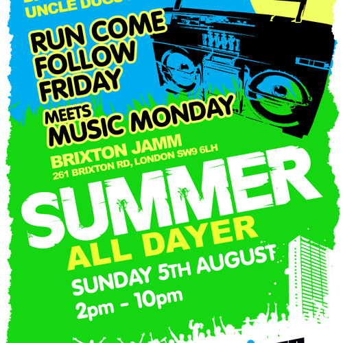 Uncle Dugs, Billy Daniel Bunter & DJ Slipmatt B2B2B - Live @ #RCFF meets Music Monday 05-08-2012