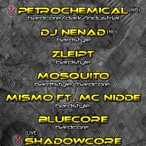Shadowcore [live] @ Club Machinecore [27/7 - 2012]
