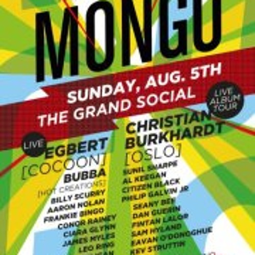 Dan Guerin - Live from Mongo - August Bank Holiday Sunday 2012