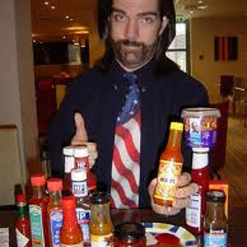 Dinny be shy with the hot sauce, baby.