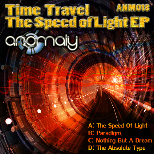 ANM018 Time Travel: The Speed Of Light EP (Out NOW!)