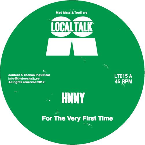 HNNY - For The Very First Time EP (12'' - LT015 - 2012)