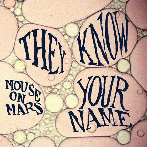 "Mouse on Mars ""They Know Your Name"" (MONKEYTOWN029) Out Aug 24"