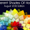 Different Shades Of House - August Edition 2012