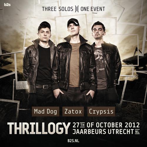 Crypsis vs B-Front @ Thrillogy 2012