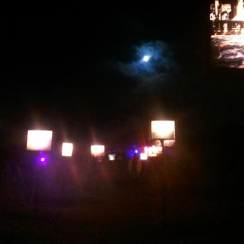 Nachts sind alle Tänzer blau