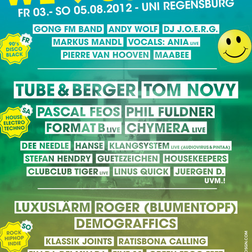 PR014: CHYMERA live @ We Love Summer 2012 (Uni Regensburg 04082012)