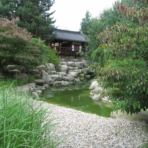 Sounds: Stream in the Korean garden at the Gärten der Welt