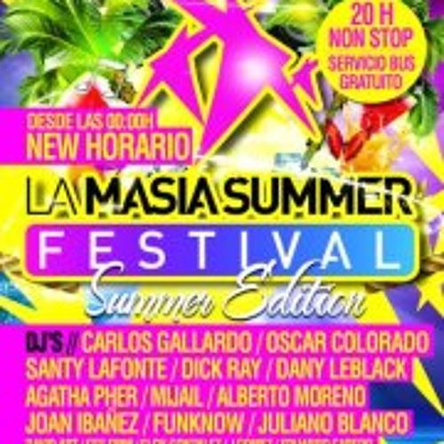 David Art - La Masia Summer Festival 12-08-12
