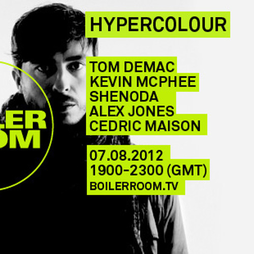 Tom Demac live in the Boiler Room