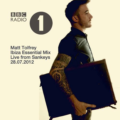 Matt Tolfrey BBC Radio 1 Essential Mix, recorded live at Sankeys, 28.07.12