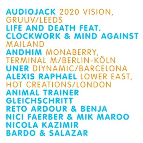 Audiojack @ Hive Club, Zurich (11.08.12)