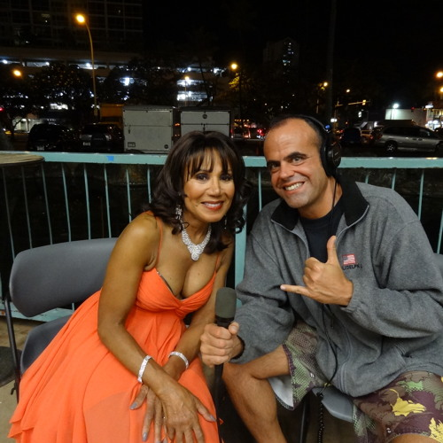 The Crystals' DeeDee Kenniebrew Greeting from the Blaisdell Arena
