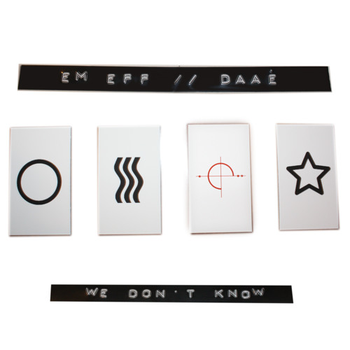 em eff & Daaé - Ghosts Are Just T-Shirts Napping on Door Knobs