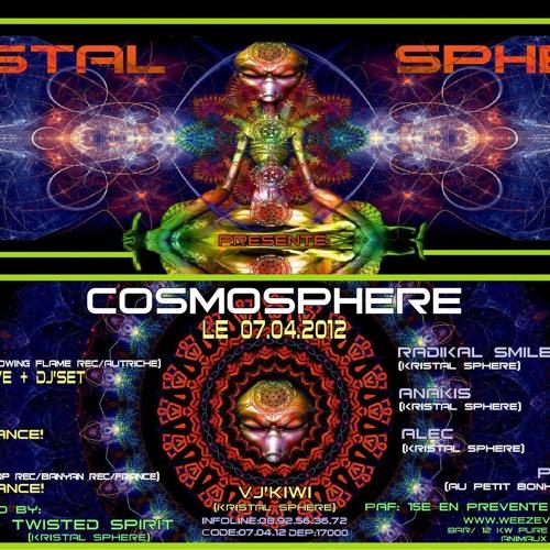 Anakis @Cosmosphere by Kristal Sphere (La Rochelle, Fr 07/04/12)