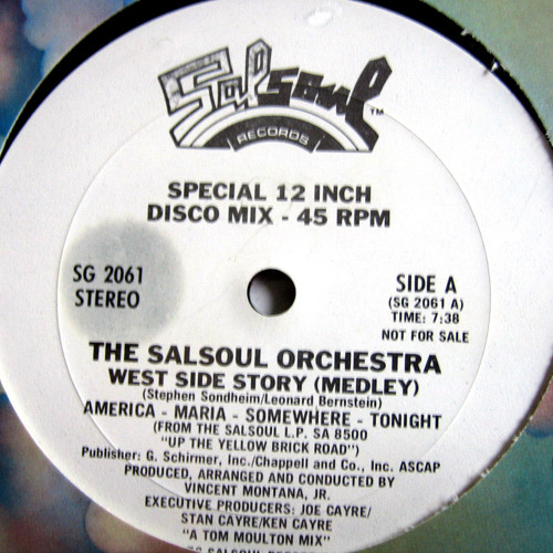 The Salsoul Orchestra - West Side Story Break (Edit)