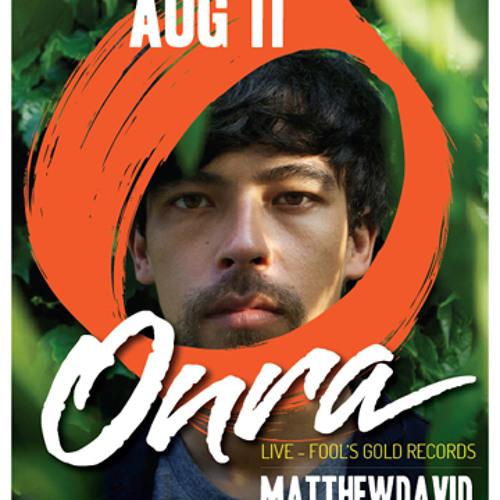 WD4D - Live at Onra/Matthewdavid (FREE DL)