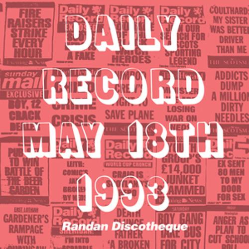 Randan Discotheque – Daily Record May 18th 1993
