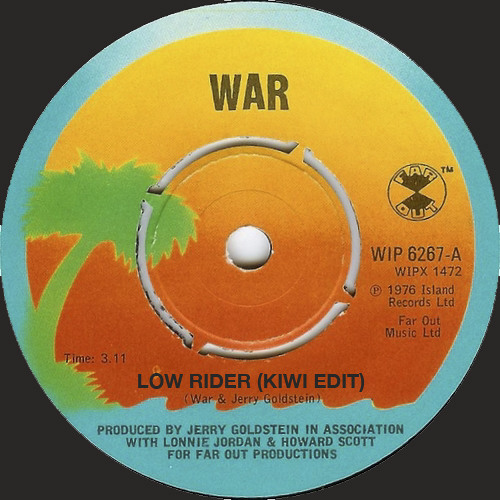 Lowrider (Kiwi edit) - WAR