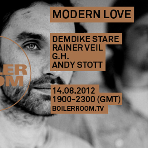 Andy Stott Live In The Boiler Room Tracklist