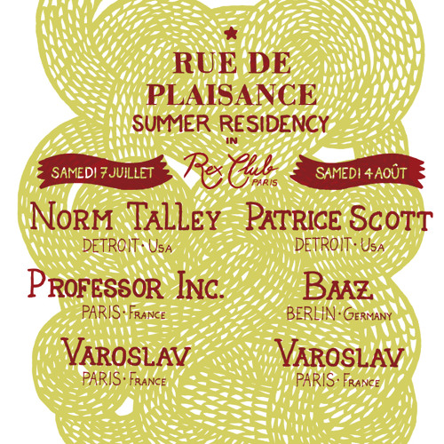 Rue de Plaisance summer residency Recorded at Rex club Paris-7 07 2012-Varoslav-Part 1
