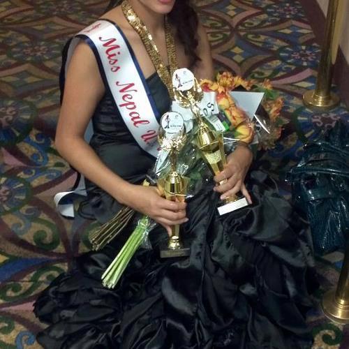 Miss Nepal USA 2012 Aastha Shrestha