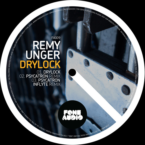 Remy Unger - Drylock (Original Mix) Soundcloud Edit