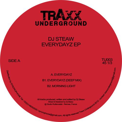DJ STEAW - Everydayz EP - TRAXX UNDERGROUND REC