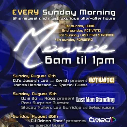 Zenith @ Activate 12 Aug 2012