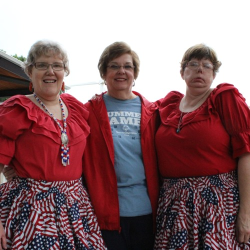 """Handicapable Square Dance Group """"Star Spangled Swingers"""" 8/16/2012"""