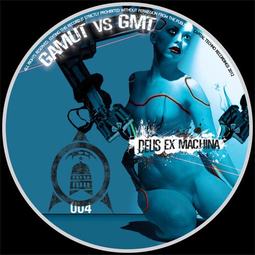 GamuT VS GmT-Deus ex Machina album. Capital Techno records