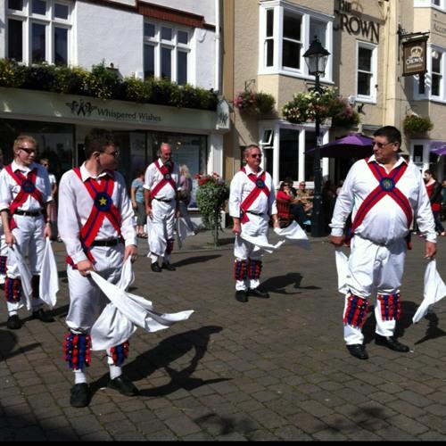 Morris Dancing at Glastonbury