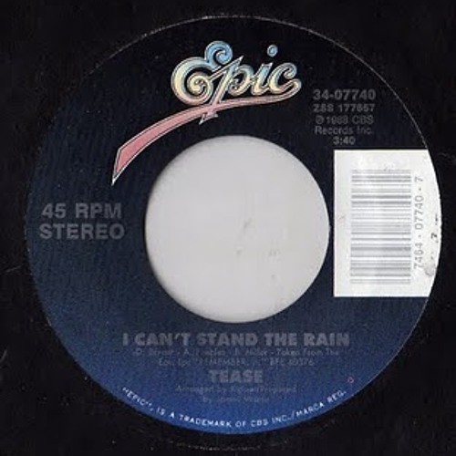 Tease - I can't Stand The Rain (Hubert Electric Funky edit)