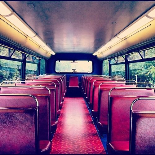 chill on the bus