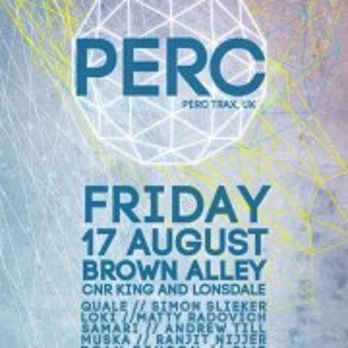 Ranjit Nijjer - Live DJ Set @ When the Smoke Clears Presents PERC - August 17th 2012