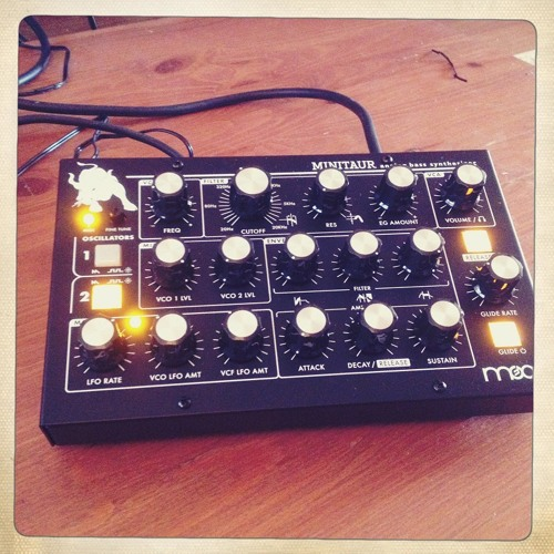 The Modern (Moog Minitaur Track)