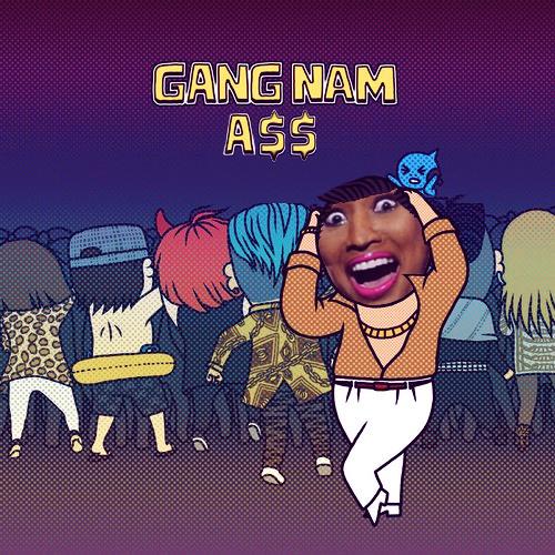 Gangnam (A$$) [Mashup]